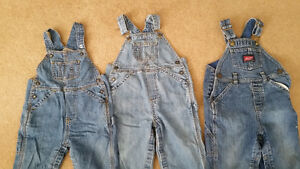 3 Insulated Jean Overalls12-18mths