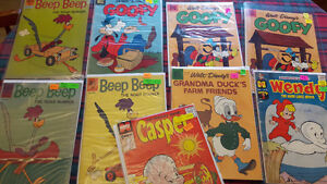 9  COMICS from  1958 to 1962
