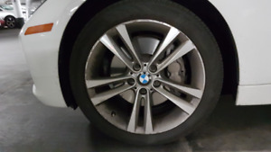 BMW 3 Series 18 Inch Wheel with DWS06(225/45/18) with 95% tread