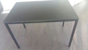 Selling desk + Glass table