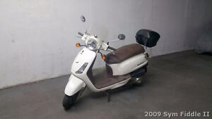 for sale 2009 SYM Fiddle II 125 Scooter