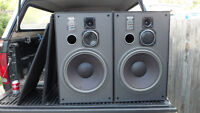 Large Speakers,  280 Watts,  Made in Canada $40.