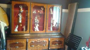 Imported Italian China cabinet or showcase