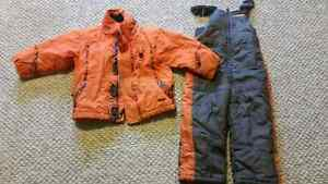 4t two piece snowsuit