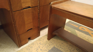 Classic 1950's Dresser Unit with Vanity