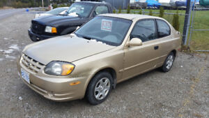 OPEN TO OFFERS - 2004 Hyundai Accent Hatchback