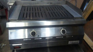 Electric grill for restaurant's