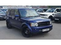 2009 LAND ROVER DISCOVERY 4 TDV6 XS STUNNING BALI BLUE RARE AND STRIKING CO