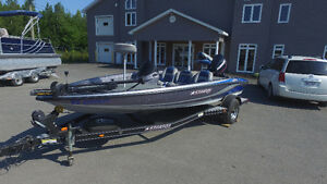 2008 Stratos Bass boat 275XL
