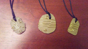 Necklaces made of beach glass from the shores of NL St. John's Newfoundland image 1