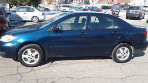 2006 Toyota Corolla  Only 147000km