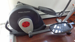Elliptical Trainer Exercise Machine.