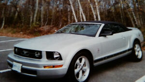 2008 Ford Mustang CONVERTIBLE pony pack