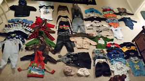 Cute Baby Boy clothes size 9 to 12 months