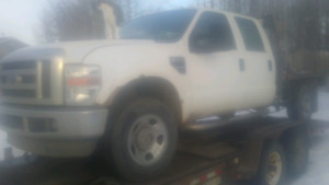 2008 Ford F350 crewcab 4x4 with deck