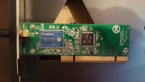 TRENDnet 54Mbps Wireless G PCI Adapter TEW-423PI