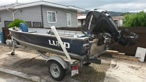 14' Lund for sale