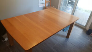 Quarter sawn white oak table
