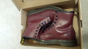 Dr.Martens cherry red boots