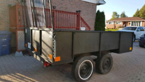 Dual axle trailer for sale