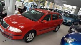 2007 SKODA OCTAVIA AMBIENTE TDI Red Manual Diesel