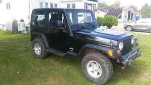 2005 jeep tj 2.4 6 speed