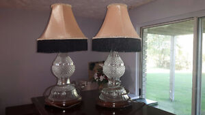 TWO TABLE LAMPS Peterborough Peterborough Area image 1