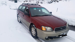2003 Subaru Outback. Must sell