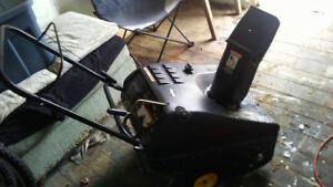 Trade snow blower for tablet