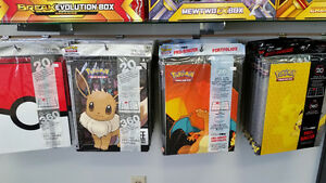 Pokemon Pikachu, Charizard, Eevee & More Ultra Pro Binders