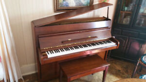 Excellent Condition Apartment Size Young Chang Piano With Chair