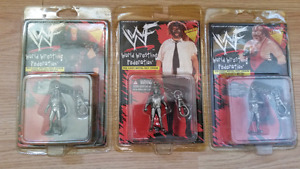 Small Lot Of WWF Wrestling Collectibles