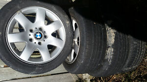 BMW OE wheels with tires