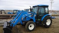 2014 LS XU5055C w/Loader, CAB MODEL CLEAROUT tell AUG.31