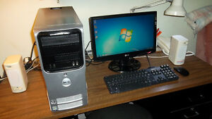 Complete Computer System with Fresh Windows 7