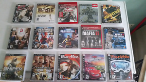 Huge Collection of PS3 Games