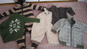 Boys GAP Bunting Coverall/ jacket/ clothes lot 3-9 months