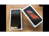 Sale Brand New Plastic Stickers still on iPhone 6S Plus 128GB