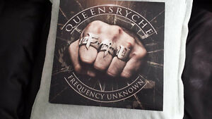 QUEENSRYCHE FREQUENCY UNKNOWN 180 GRAM VINYL ! BRAND NEW !