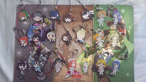 Anime Pinched Straps/Acrylic Charms