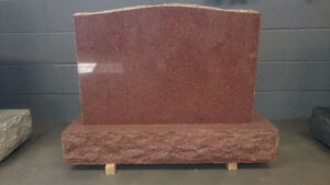Granite upright monument, various size,color and style. Edmonton Edmonton Area image 3