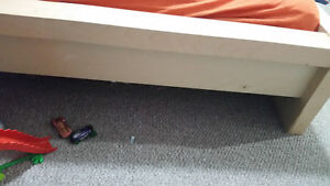 Ikea double low malm bed