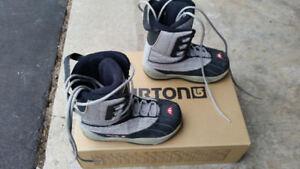 """# 6  """"Burton"""" snowboard boots"""