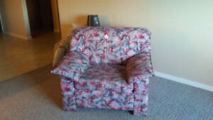 Sofa bed and Chair