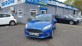 Ford Fiesta Titanium 1.5TDCi 75PS (blue) 2013