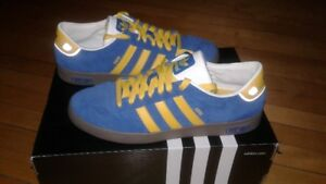 "(ADIDAS) CIERO SUEDE SZ 13-(WORN 1X) ""SAVE $45.00""-(ONLY $45)"