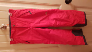 Size 10/12 Boys Red North Face Snowpants