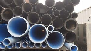 """AQUA Pipe 2""""x20' 200psi PVC"""