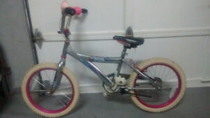 GIRL  THEME BIKE --  AGE 6+    !!  Excellent condition