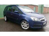 2006(56) VAUXHALL ZAFIRA 1.9CDTi 120 LIFE BLUE 7 SEATER MPV PEOPLE CARRIER 55MPG
